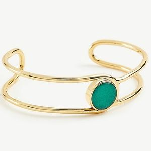 Ann Taylor Circle Stone Cuff Bracelet-NWT